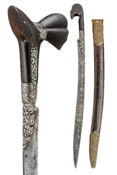 19th Century Turkish Yatagan