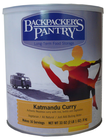 Backpacker's Pantry Katmandu Curry #10 Cans (Case of 4) - Forge Survival Supply - lowest price