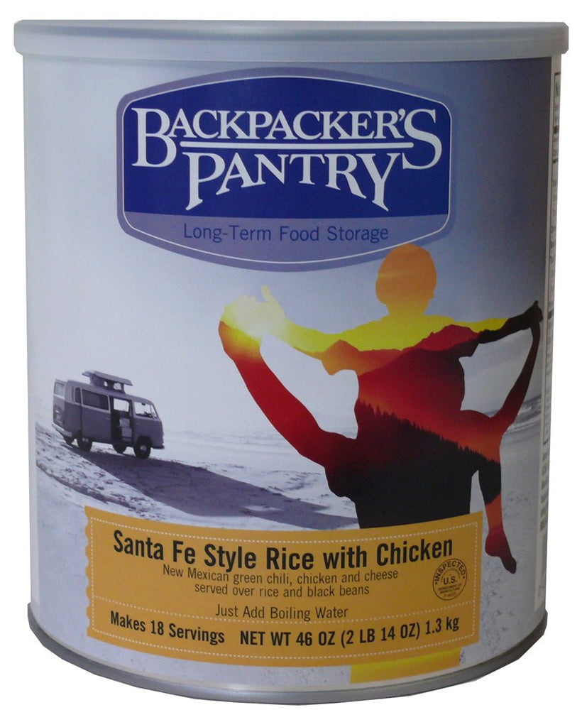 Backpacker's Pantry Santa Fe Style Rice with Chicken #10 Cans (Case of 4) - Forge Survival Supply