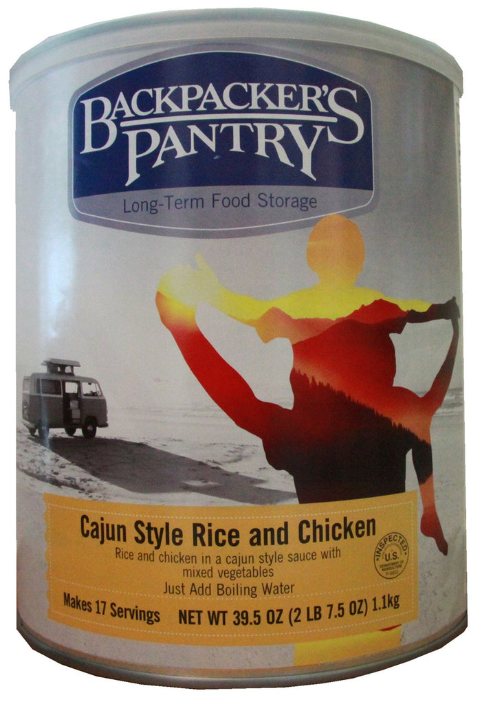 Backpacker's Pantry Cajun Rice with Chicken #10 Cans (Case of 4) - Forge Survival Supply