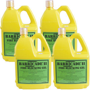 Barricade Fire Gel - One (1) Gallon Container (4-Pack) - Forge Survival Supply