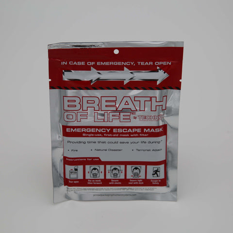 Breath of Life Emergency Escape Mask