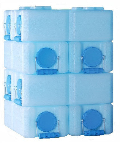WaterBrick 28-Gallon Stackable Water / Food Storage Container - Forge Survival Supply