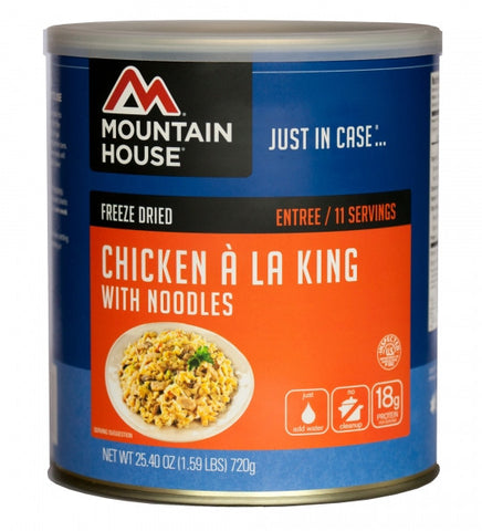 Mountain House Freeze-Dried Chicken a la King #10 Cans (Case of 6) - Forge Survival Supply