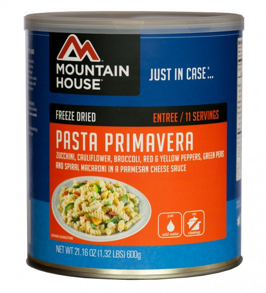 Mountain House Freeze-Dried Pasta Primavera #10 Cans (Case of 6) - Forge Survival Supply