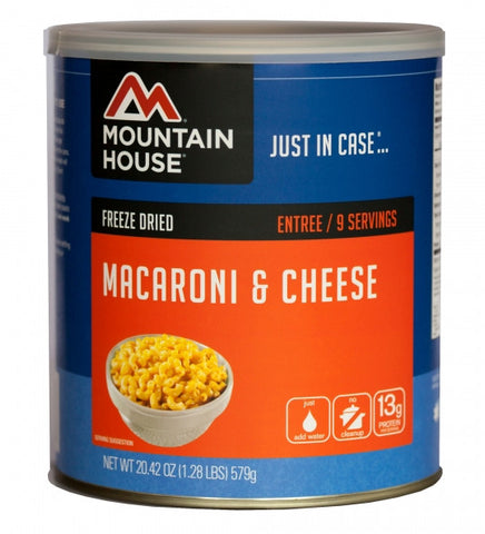 Mountain House Freeze-Dried Macaroni & Cheese #10 Cans (Case of 6) - Forge Survival Supply