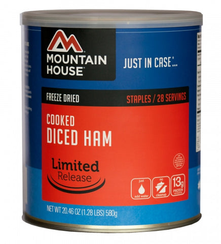 Mountain House Freeze-Dried Diced Ham #10 Cans (Case of 6) - Forge Survival Supply