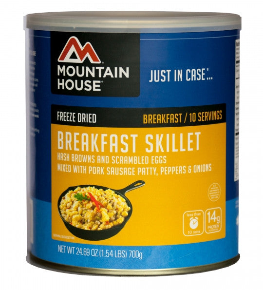 Mountain House Freeze-Dried Breakfast Skillet #10 Cans (Case of 6)