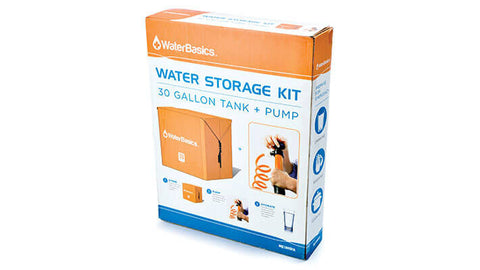 Aquamira WaterBasics Emergency Water Storage (30 gal) - Forge Survival Supply
