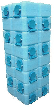 WaterBrick 56-Gallon Stackable Water / Food Storage Container