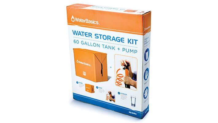 Aquamira WaterBasics Emergency Water Storage (60 gal) - Forge Survival Supply