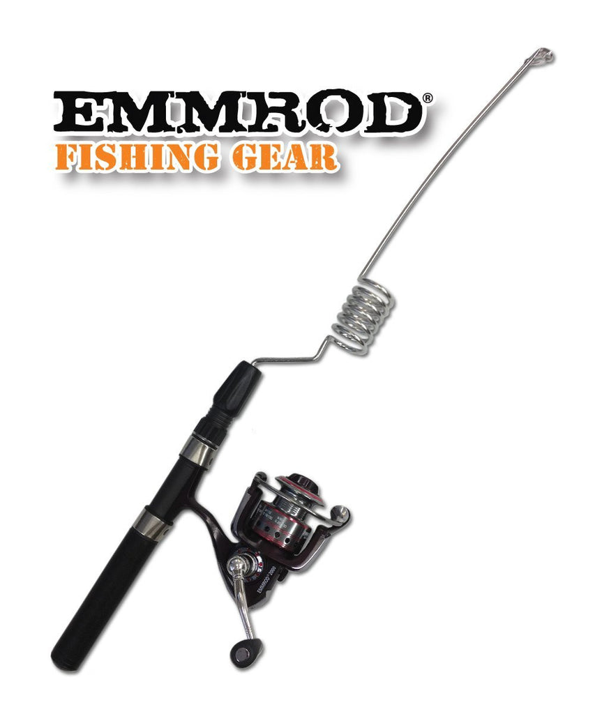 Emmrod Packrod Fishing Combo 6 Coil Spinning Pole w/ Zebco Adventure 30 Open Face Reel - Forge Survival Supply - lowest price