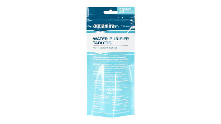 Aquamira Water Purifier Tablets (Pkg of 20) - Forge Survival Supply - lowest price