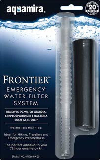 Aquamira Frontier Emergency Water Filter System - Forge Survival Supply