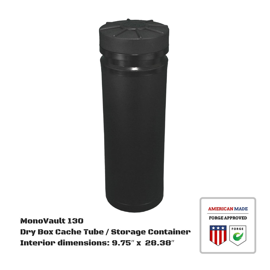 MonoVault 130 Dry Box Cache Tube / Storage Container
