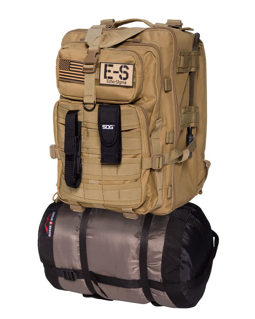 Echo-Sigma Emergency Bug Out Bag - Forge Survival Supply