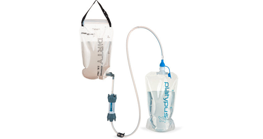 Platypus GravityWorks Two-Liter 2.0L Filter System Complete Kit - Forge Survival Supply