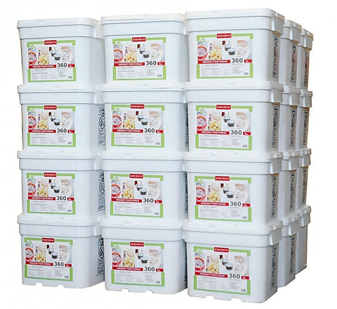 Lindon Farms Freeze-Dried Stackable Emergency Food Storage (1-Person 3-Years  sc 1 st  Forge Survival Supply & 2 Year u2013 Forge Survival Supply