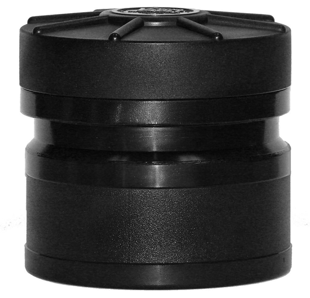 MonoVault 110 - Dry Box Cache Tube / Storage Container (Black) - Forge Survival Supply