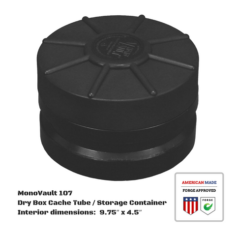 MonoVault 107 Dry Box Cache Tube / Storage Container
