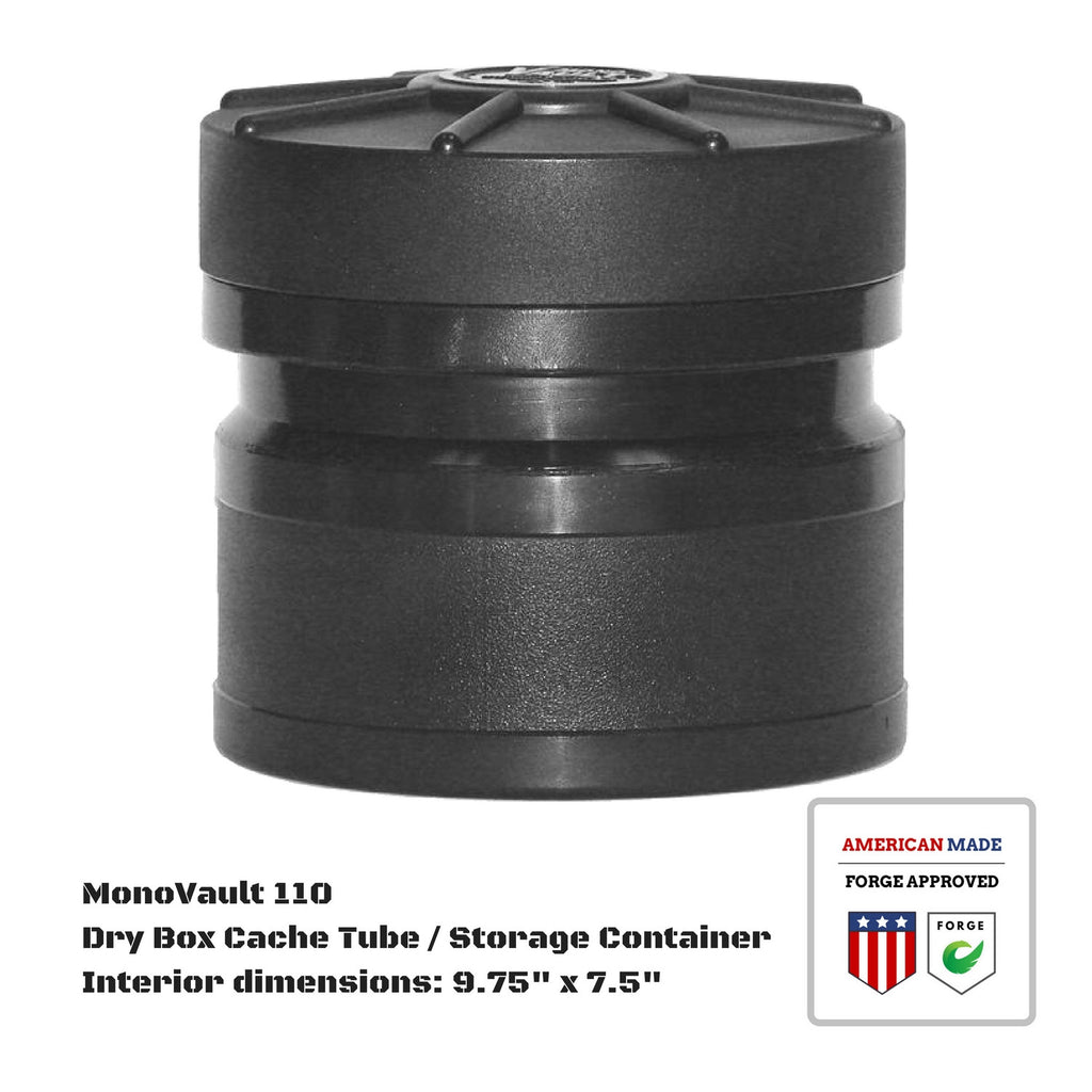 MonoVault 110 Dry Box Cache Tube / Storage Container
