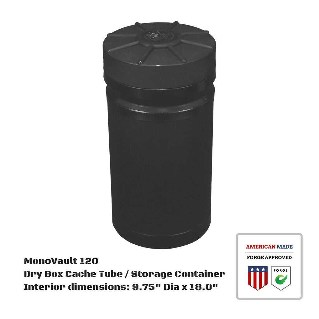 MonoVault 120 Dry Box Cache Tube / Storage Container
