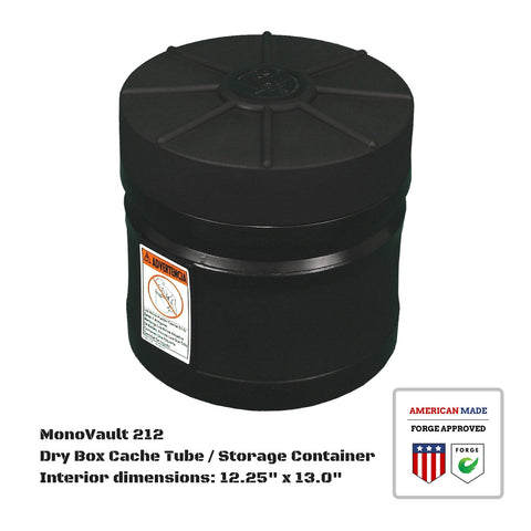 MonoVault 212 Dry Box Cache Tube / Storage Container