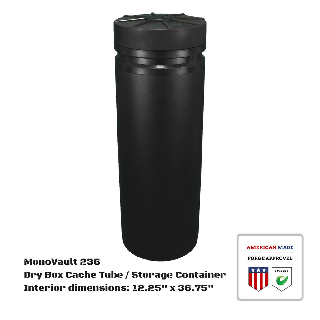 MonoVault 236 Dry Box Cache Tube / Storage Container