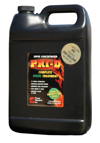 PRI-D One (1) Gallon Diesel Fuel Treatment - Forge Survival Supply