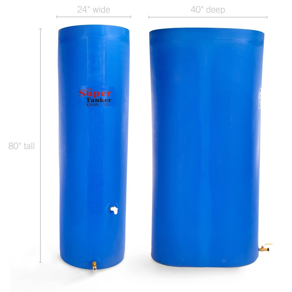 SuperTanker 275 Gallon Emergency Water Storage Container