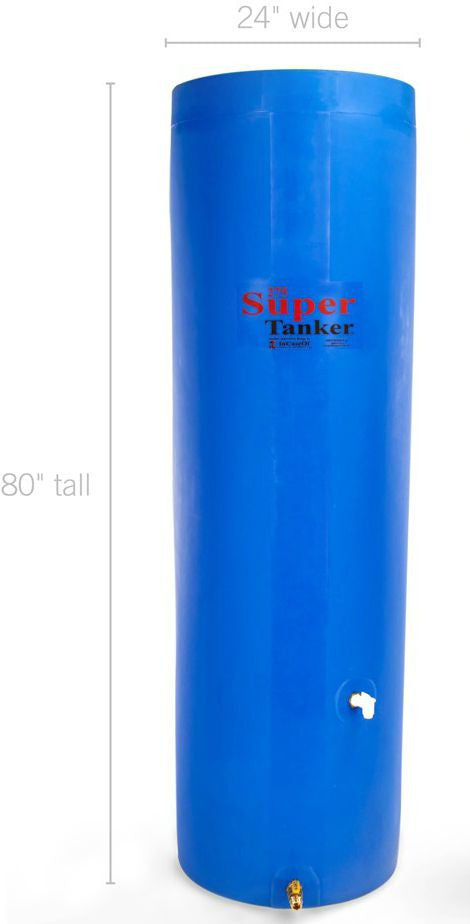 SuperTanker 275 Gallon Emergency Water Storage Container Forge