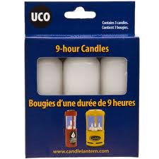 UCO Nine (9) Hour Candle (3-Pack)