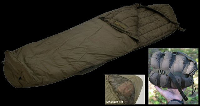 Eberlestock Ultralight Sleeping Bag with G-Loft Insulation (Regular) - Forge Survival Supply