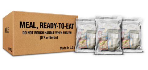 XMRE Lite Includes MRE Heater Bags (Case of 12) - Forge Survival Supply