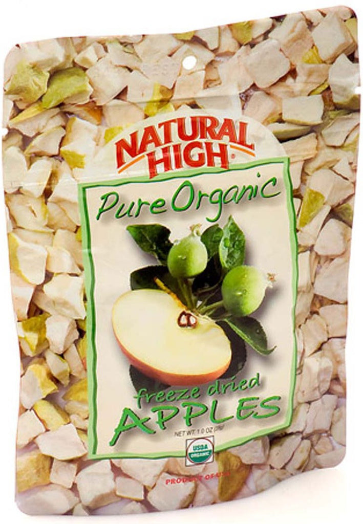 AlpineAire Freeze-Dried Organic Apples Pouches (Case of 12) - Forge Survival Supply - lowest price