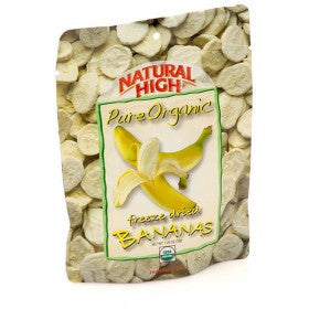 AlpineAire Freeze-Dried Organic Bananas Pouches (Case of 12) - Forge Survival Supply - lowest price