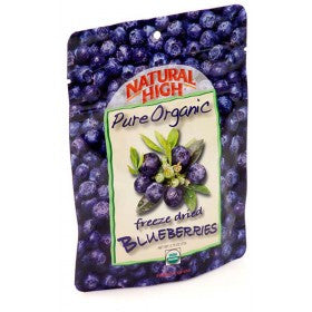 AlpineAire Freeze-Dried Organic Blueberries Pouches (Case of 12) - Forge Survival Supply