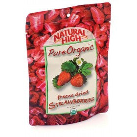 AlpineAire Freeze-Dried Organic Strawberries Pouches (Case of 12) - Forge Survival Supply