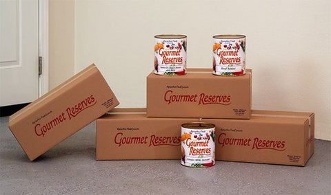 AlpineAire Gourmet Reserves Supreme Food Storage System (1-Person 45 Days) - Forge Survival Supply
