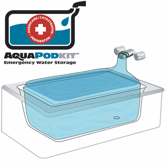 AquaPodKit Emergency Water Storage - Forge Survival Supply