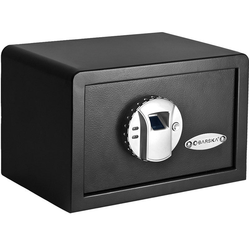 Barska Compact Biometric Safe (Black) - Forge Survival Supply