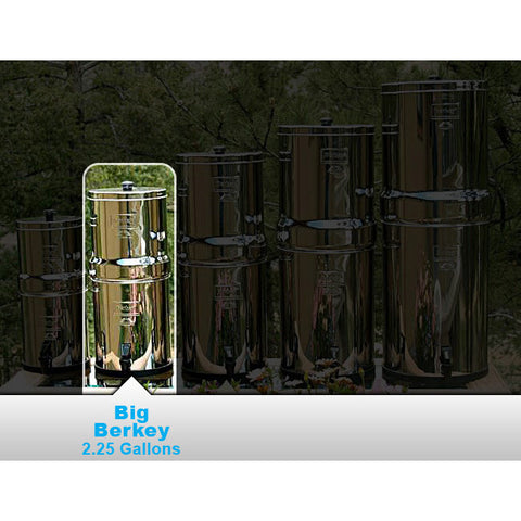 Big Berkey Water Purifier (with 2 Filter Elements) - Forge Survival Supply