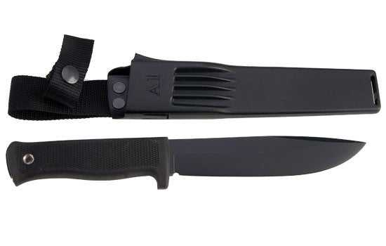 Fallkniven A1 Survival Knife (Black CeraCoat) - Forge Survival Supply - lowest price