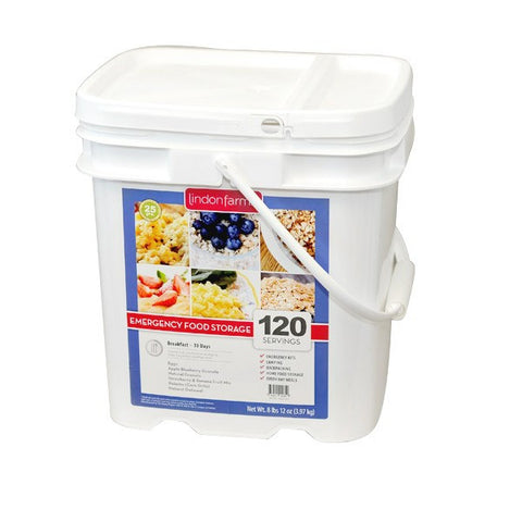 Lindon Farms Freeze-Dried Breakfast Entree (120 Servings)