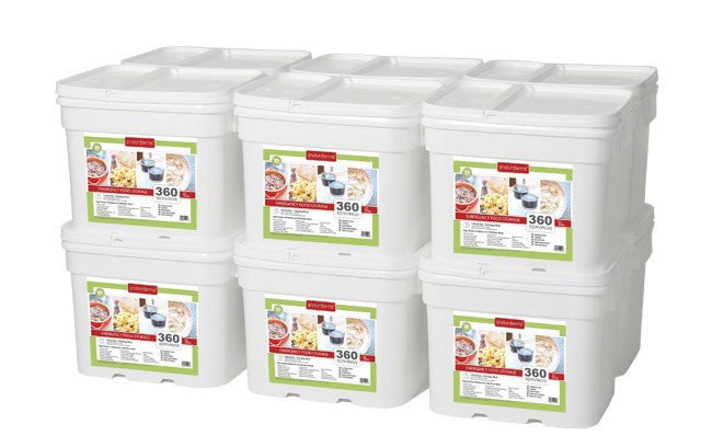 Lindon Farms Stackable Emergency Food Storage System (1-Person 1-Year 4,320 Servings)