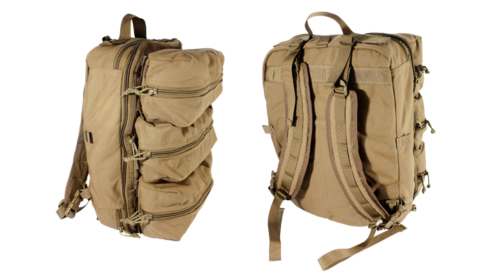 Medical Bag Stocked Version 2 (Tan) - Forge Survival Supply