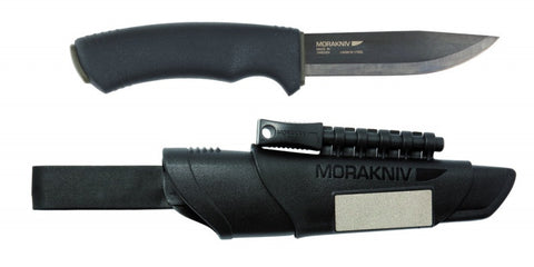 MoraKniv Bushcraft Survival Knife (Black)