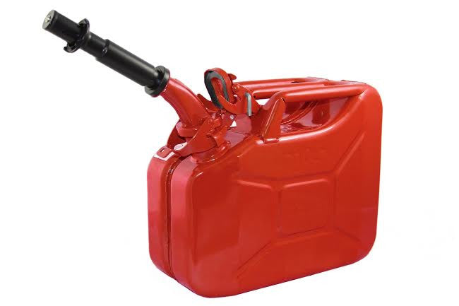 Wavian Nato 2.5-Gallon Jerry Can (Red) - Forge Survival Supply