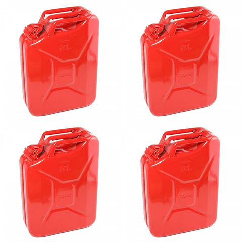 Wavian Nato 5-Gallon Jerry Can (Red) (Case of 4) - Forge Survival Supply