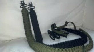Paracord OD Gun Sling - Forge Survival Supply